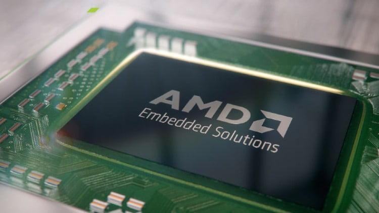 AMD EPYC 3000 Series SoC spotted