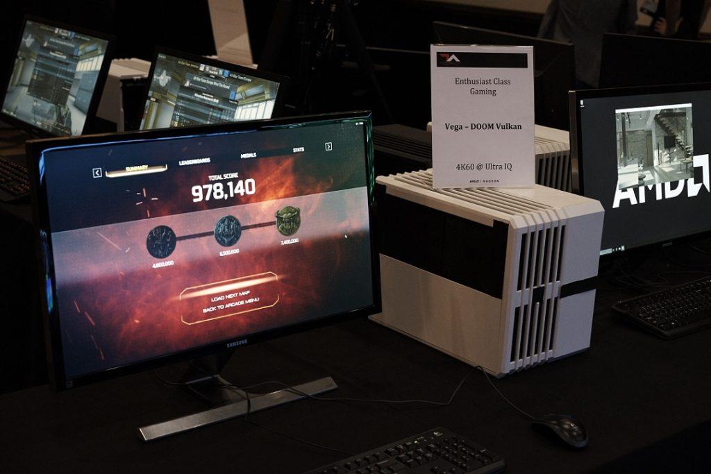 AMD Vega GPU demo