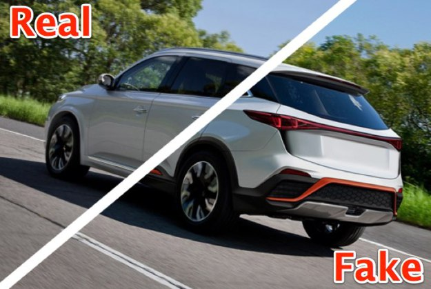 Tesla competitor WM Motors Unveils New SUV Photoshopped on top of Mitsubishi