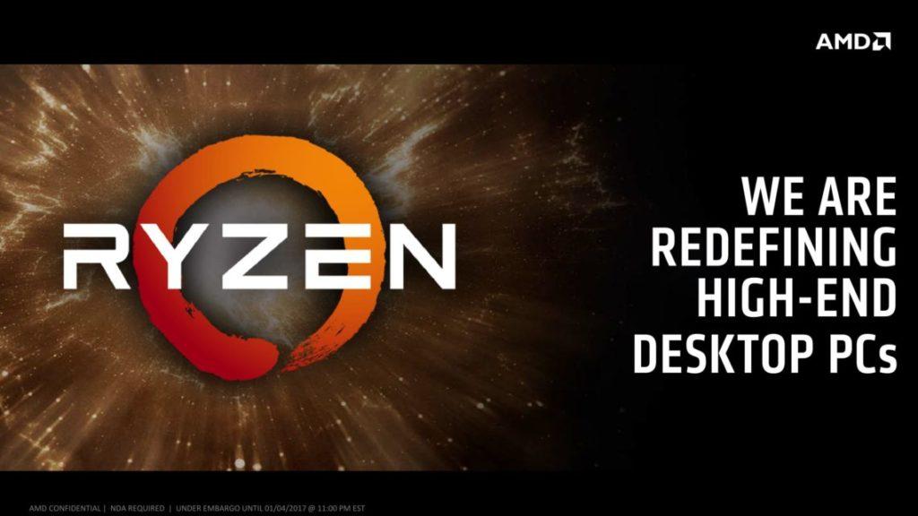 AMD Ryzen release date confirmed