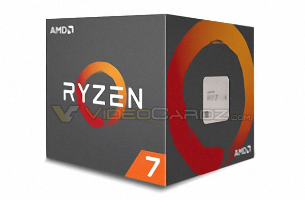 Ryzen retail box pictured
