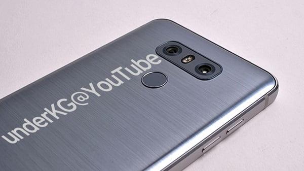 LG G6 back side render