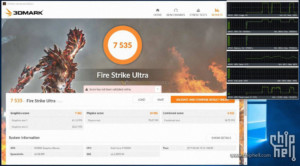 Nvidia GTX 1080 Ti 3DMark Benchmarks - Fire Strike Ultra OC