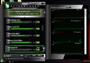 Flash RX 480 to RX 580 BIOS MSI afterburner