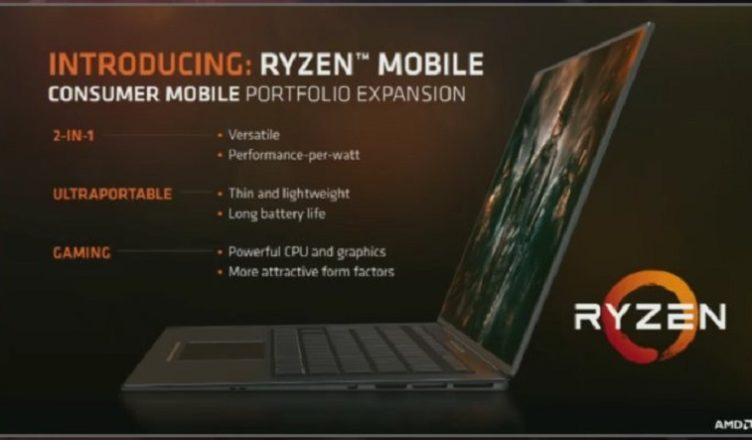 AMD Ryzen Mobile chips