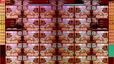Intel Skylake-X die shot