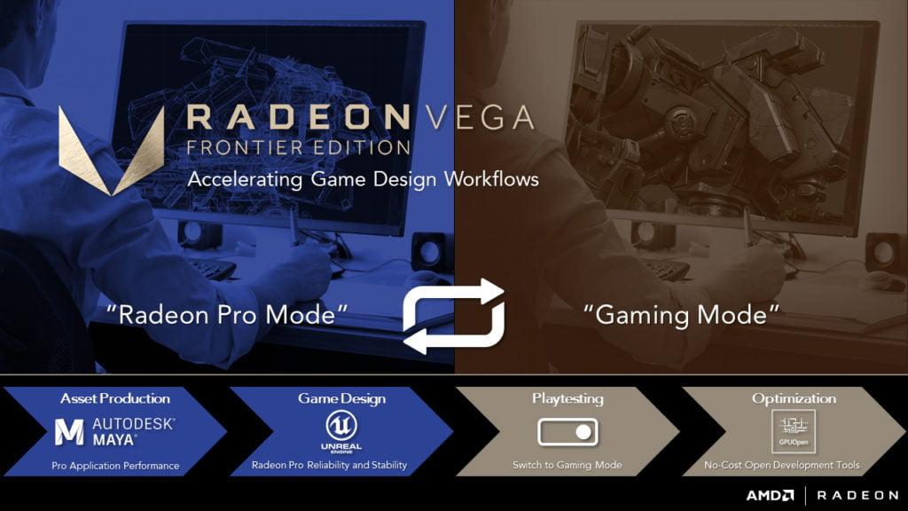 AMD Vega Frontier Edition Gaming Mode