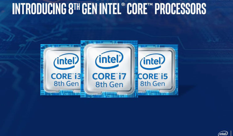 Intel 8th Gen Kaby Lake Refresh for notebooks