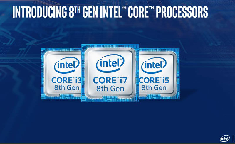 Intel 8th Gen Coffee Lake-H for notebooks