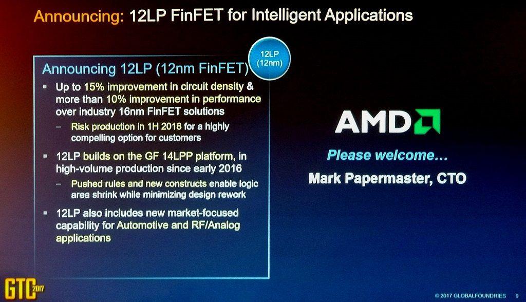 AMD's Next-gen Ryzen CPU and Vega GPU on 12nm LP process