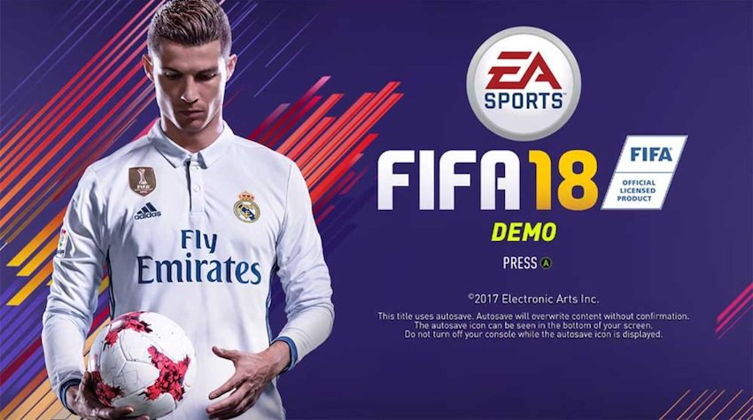 FIFA 18 PC specifications and demo