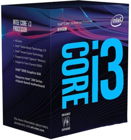 Intel Core i3 Coffee Lake CPUs