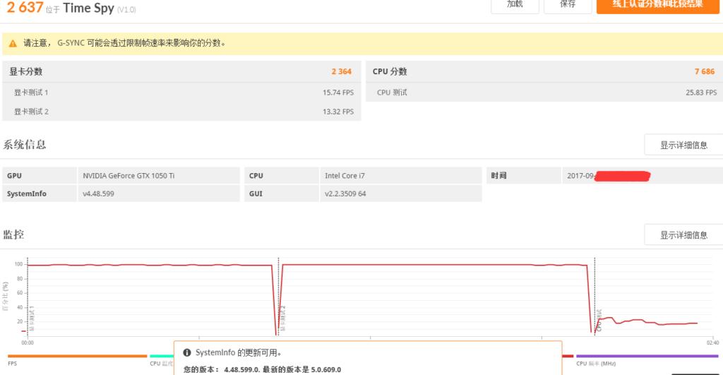 Core i7-8700K 3DMark TimeSpy scores