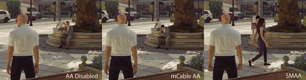 mCable HDMI - Hitman comparison (PCPer)
