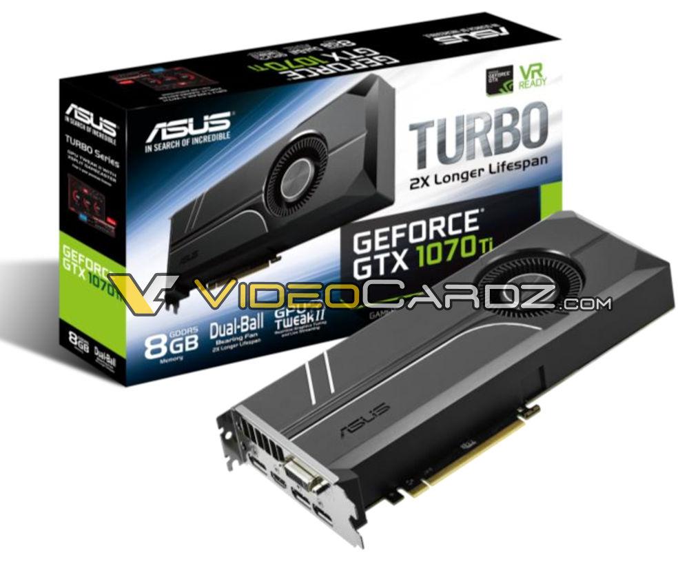 ASUS GTX 1070 Ti Turbo