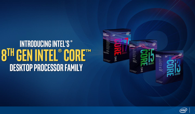 Intel Coffee Lake 8-core CPUs part of the lineup