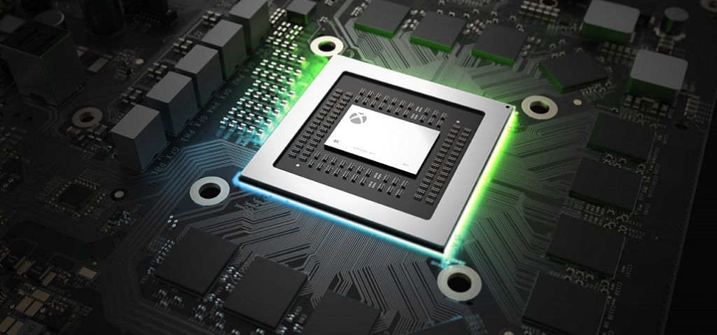 Xbox One X CPU and GPU performance