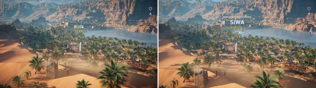 AC Origins 1.05 vs Launch version_screen4