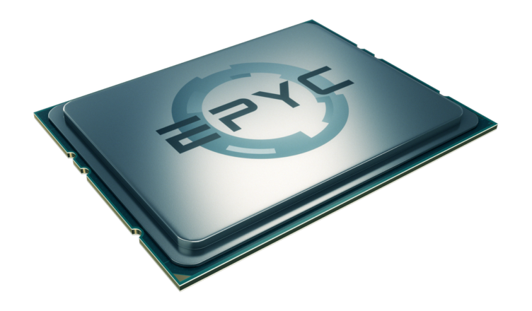 AMD Epyc 2 with 9 dies