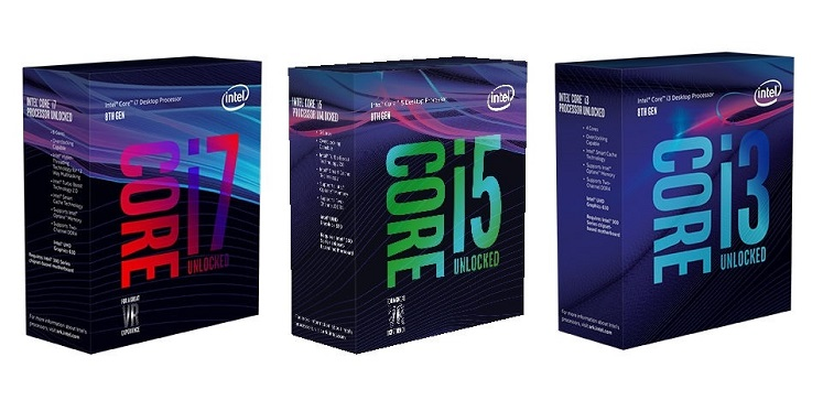 New Intel 8th Gen Coffee Lake, plus 10nm Cannonlake chips