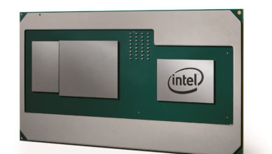 Intel Core i7-8809G with Vega M graphics