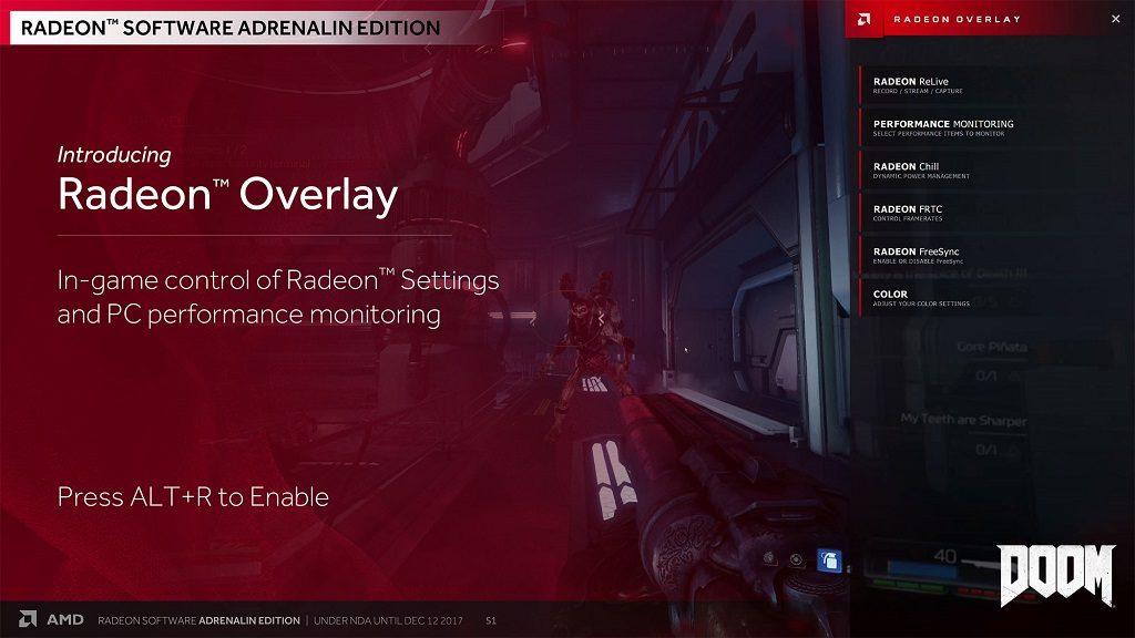 Radeon Adrenalin Edition - Radeon Overlay