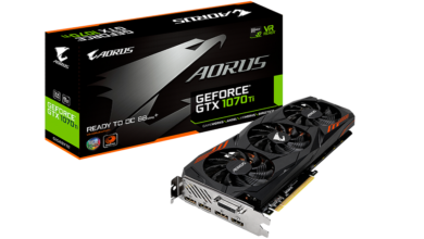 Photo of Aorus GTX 1070 Ti 8G Offers Higher Than Nvidia's Spec'd Boost Clocks