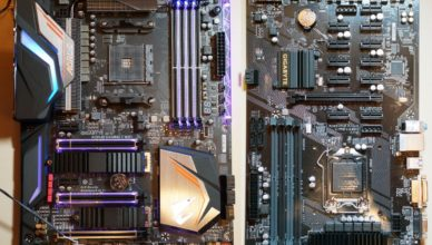Images of Gigabyte Gaming 7 WiFi, an X470 Motherboard
