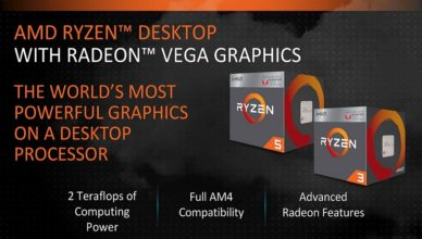 AMD Raven Ridge reviews - graphics performance