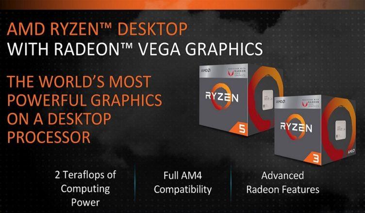 AMD Raven Ridge reviews - graphics performance