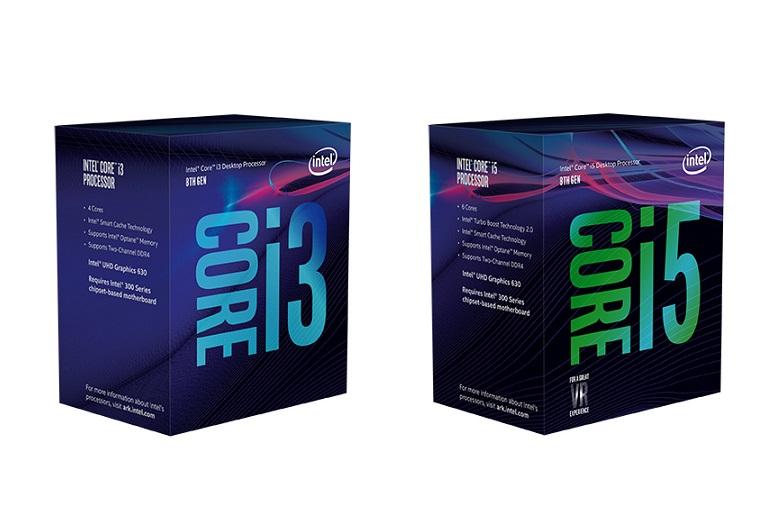Intel Coffee Lake Core i5-8600, i5-8500 and i3-8300 launch date