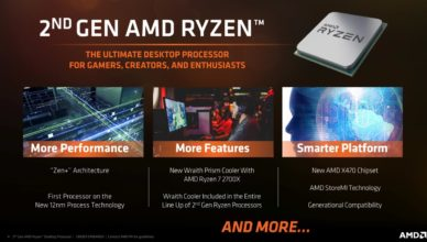 AMD Ryzen 2 specs, pricing and release date