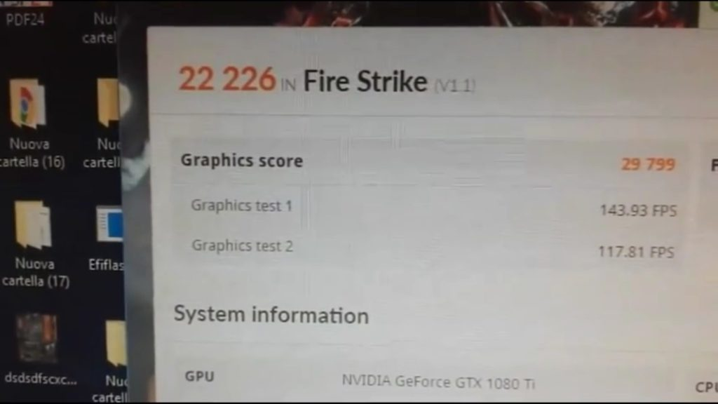 Ryzen 7 2700X Fire Strike