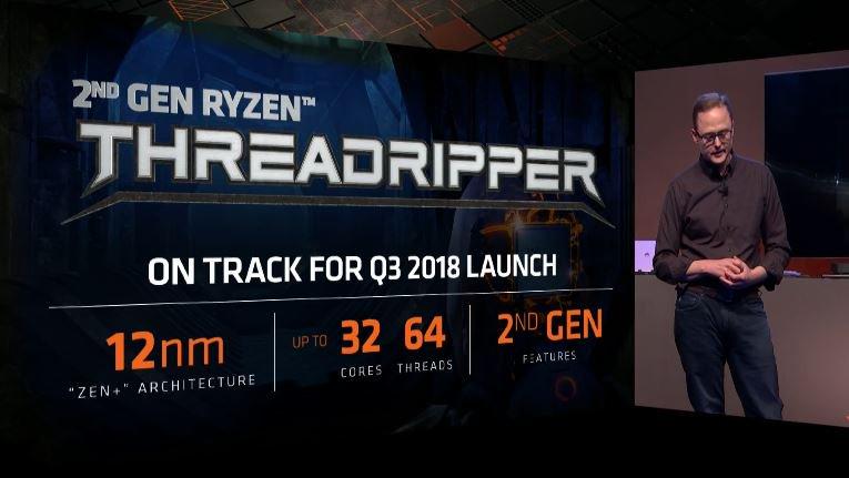 AMD 2nd-Gen Ryzen Threadripper specs