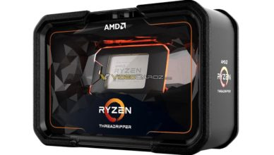 AMD Ryzen Threadripper 2000 Series packaging (front)