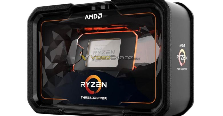 AMD Ryzen Threadripper 2000 Series packaging (front)