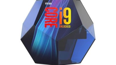 Intel Core i9-9900K packaging