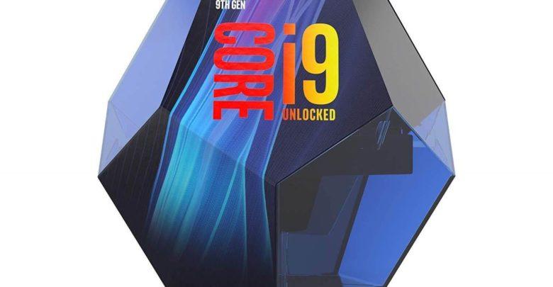 Intel Core i9-9900K packaging