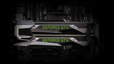 Nvidia SLI for connecting two GeForce GTX cards