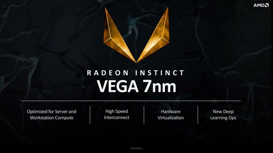 AMD Radeon Instinct with 7nm Vega 20 GPU