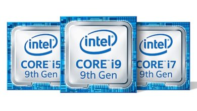 Intel 9th-gen F-series CPUs