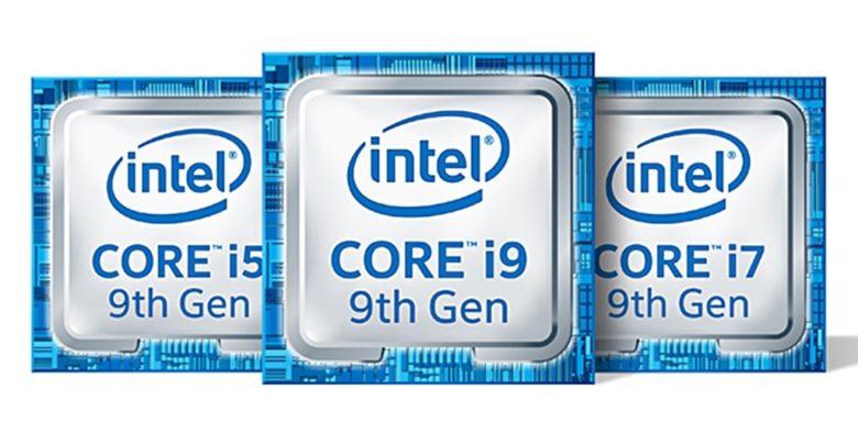 Intel 9th-gen F-series CPUs