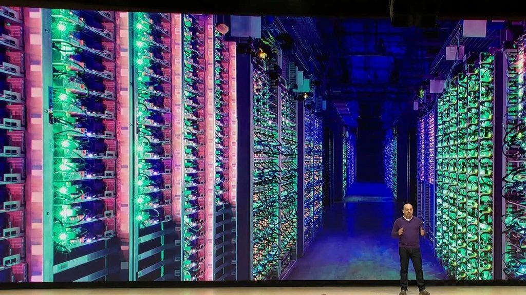 Google Stadia datacenter