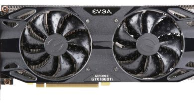 EVGA GTX 1660 Ti graphics card