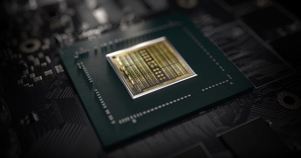 Nvidia GTX 1650 graphics chip