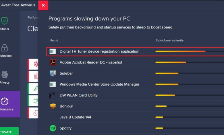 Fix Digital TV Tuner Device Registration Application