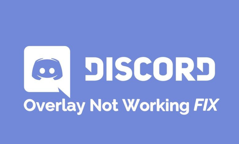 Fix Discord Overlay not working