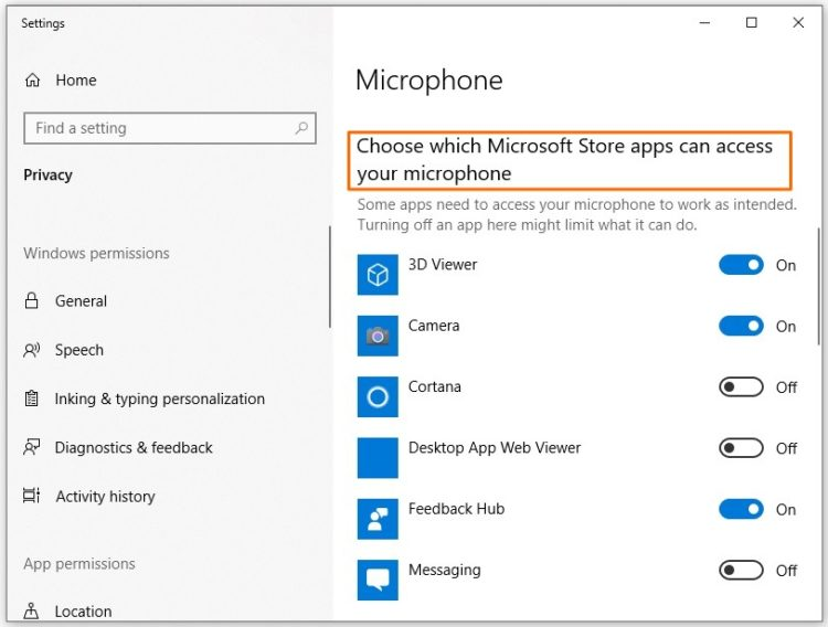 Arctis 7 mic access on Windows 10