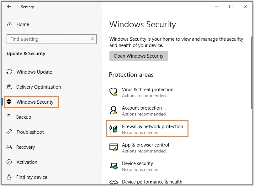 Fix Skyrim crashing - Firewall & network protection