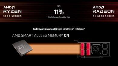 AMD Smart Access Memory ON
